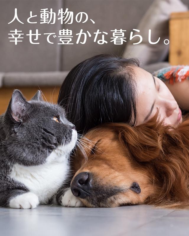 人と動物の幸せで豊かな暮らし